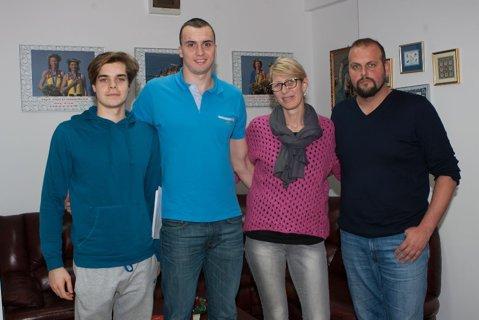 CS Dinamo dă lovitura! A obţinut semnătura lui Robert Glinţă, cel mai valoros înotător român al momentului