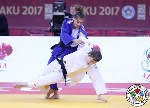 Larisa Florian, medalie de aur la Grand Slamul de la Baku. Orădeanca intră în top 10 mondial
