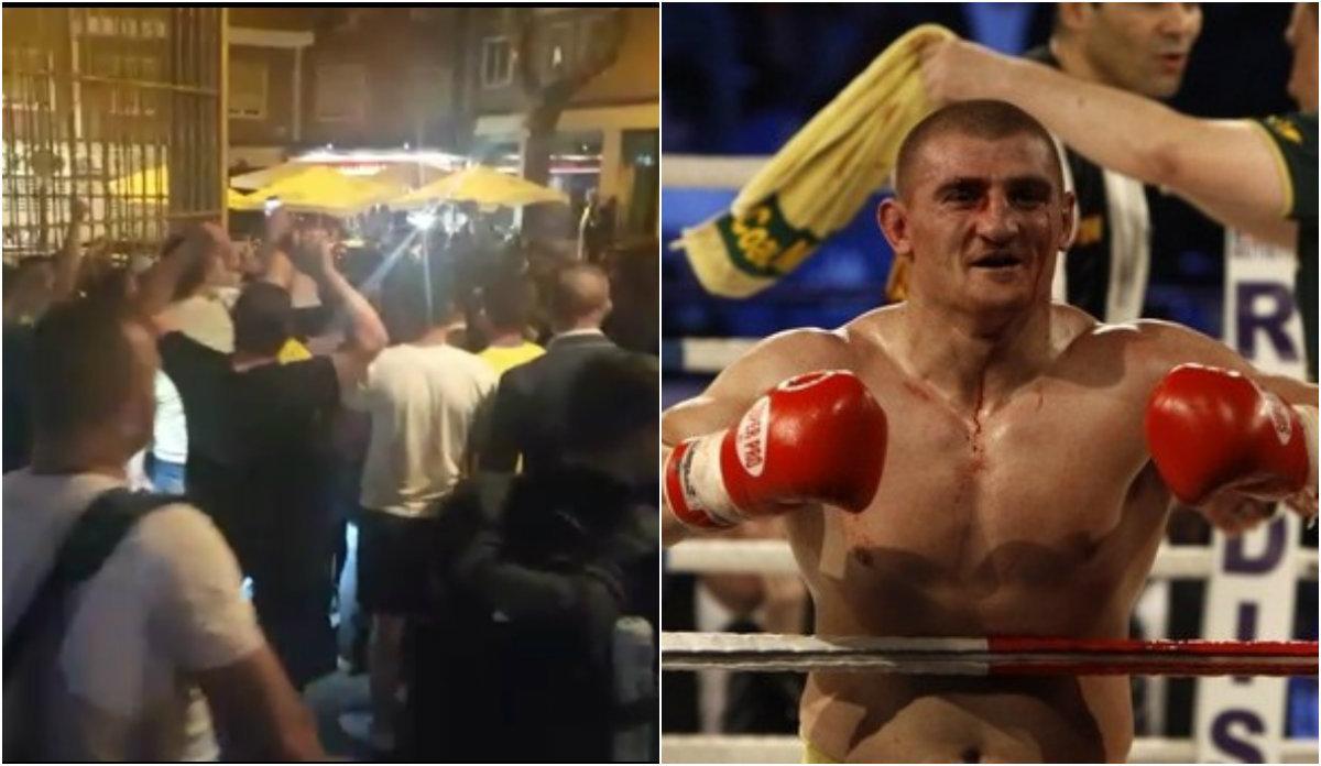 """""""Cătălin, mulţumim!"""" VIDEO Imagini senzaţionale de la Madrid, după victoria spectaculoasă a lui Moroşanu. Ce au făcut românii după meci"""