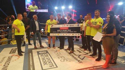 VIDEO | Victorie spectaculoasă pentru Cătălin Moroşanu la Superkombat Madrid! Reacţia publicului în momentul în care a fost anunţată decizia