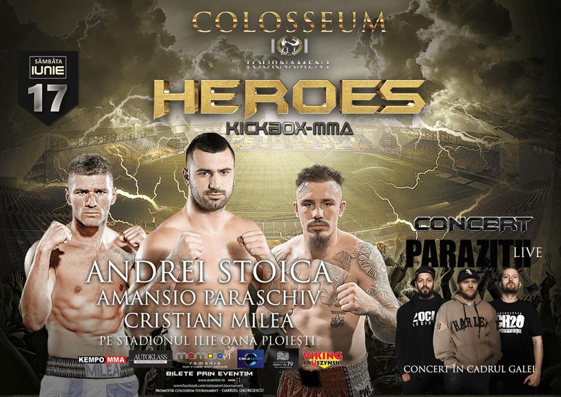 Kickboxing la Timişoara şi Ploieşti pe 16 şi 17 iunie. Fraţii Stoica revin în ring în două gale incendiare