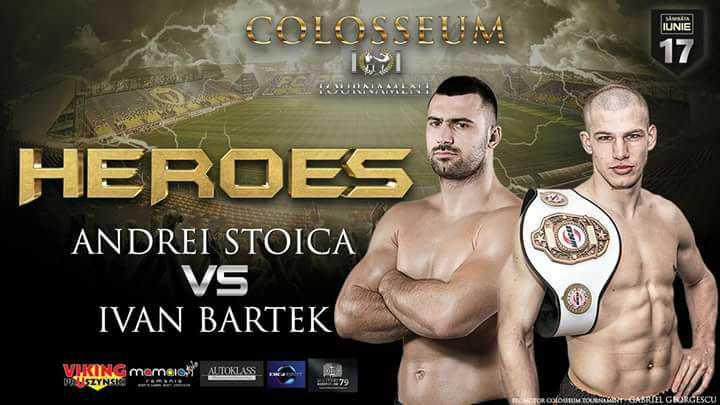 Kickboxing la Ploieşti, 17 iunie, stadionul Ilie Oană. Mister KO luptă cu Ivan cel Groaznic
