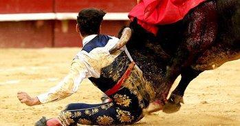 Imagini şocante cu un toreador din Spania. VIDEO | Momentul în care s-a pus în genunchi în faţa taurului, iar lucrurile au luat o turnură dramatică