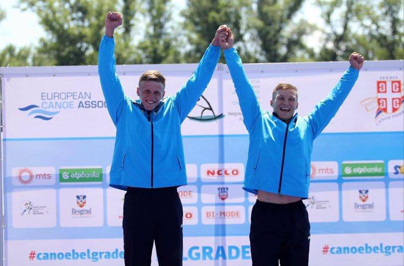 Ne-am scos în ultima zi! Două medalii de argint şi una de bronz la Campionatele Mondiale de kaiac-canoe pentru juniori şi tineret de la Bascov