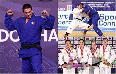 PERFORMANŢĂ | România are campion mondial la judo: cadetul Eduard Şerban a învins în finală un sportiv din patria-mamă a duelurilor pe tatami
