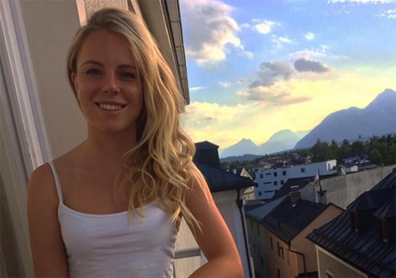 FOTO | Campioana mondială la schi care i-a înnebunit pe germani! S-a pozat goală-puşcă şi a urcat imaginea pe Instagram