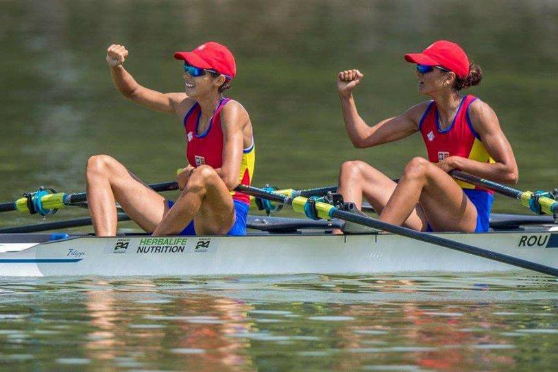 AUR la Mondialele de canotaj de la Sarasota. Ionela Livia Lehaci şi Gianina Beleagă au cucerit titlul mondial în proba de dublu vâsle categorie uşoară