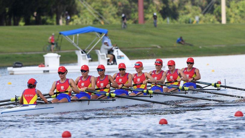 Barca de 8 plus 1 a câştigat titlul mondial la Sarasota-Bradenton! Canotajul românesc se întoarce acasă cu două medalii de aur, ca-n vremurile bune
