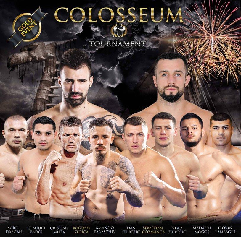Colosseum Tournament, ediţia a 4-a. Cod roşu de KO pe 16 octombrie la Bucureşti