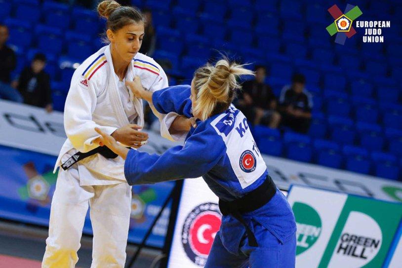 Larisa Florian, argint la Campionatele Europene de judo U23
