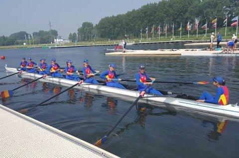 Festival românesc la Campionatele Europene de canotaj pentru juniori din Franţa. Şase echipaje calificate în finalele A, plus încă două şanse de calificare în lupta pentru medalii
