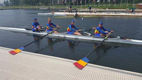 România a obţinut şapte medalii la Campionatele Europene de canotaj pentru juniori din Franţa: un aur, cinci de argint şi una de bronz
