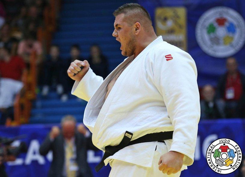 Judoka Daniel Natea, medalie de argint la Openul European de la Belgrad