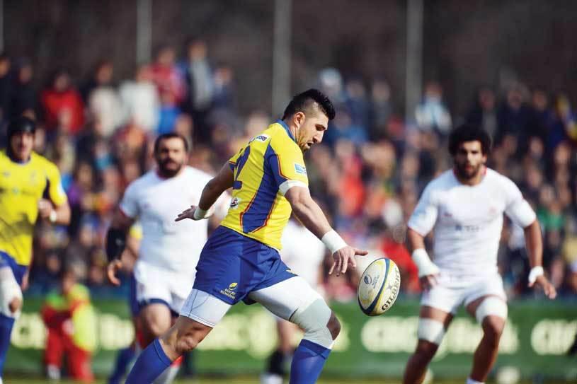 Ghetele fermecate! Naţionala de rugby a României, neînvinsă în 2013