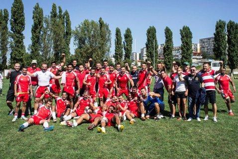 Surpriză uriaşă la rugby. Dinamo s-a calificat în semifinalele Superligii după ce a învins CSM Olimpia cu 13-12
