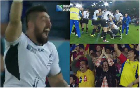 Ziua în care România a scris ISTORIE! E cea mai mare răsturnare de scor din istoria Campionatelor Mondiale! VIDEO Imagini emoţionante cu bucuria de la final