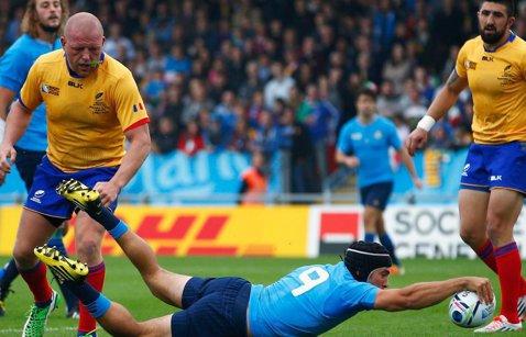 """Haralambie Dumitraş, preşedintele Federaţiei de Rugby: """"Sunt mândru de jucători, ne-au dat mari speranţe pentru viitor"""""""