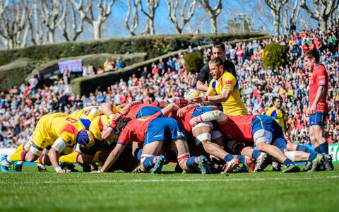 Dramă pentru naţionala de rugby! Stejarii au pierdut cu Spania şi sunt în pericol să rateze Cupa Mondială din 2019. Bucurie de nedescris la Madrid, spaniolii au invadat terenul. Prima reacţie a lui Alin Petrache şi calculele complicate pentru turneul final