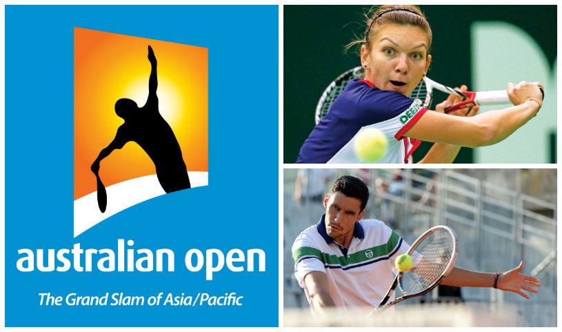 Tragere cu noroc la Australian Open! Hănescu şi Halep vor întâlni jucători veniţi din calificări! Adversarele fetelor noastre şi posibilele meciuri din turul doi