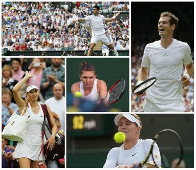 LIVE BLOG Wimbledon, ziua a 7-a | Ciudăţeniile unui turneu de gală. Din meciurile de simplu la feminin, doar cel al Simonei Halep n-a 'încăput' în program