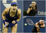 Cîrstea a împins-o la maximum pe Bouchard, dar finalista de la Wimbledon s-a impus pe final. Niculescu, eliminată de Zahlavova în turul doi la US Open