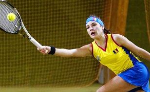 Elena Ruse a abandonat în primul tur al junioarelor la US Open