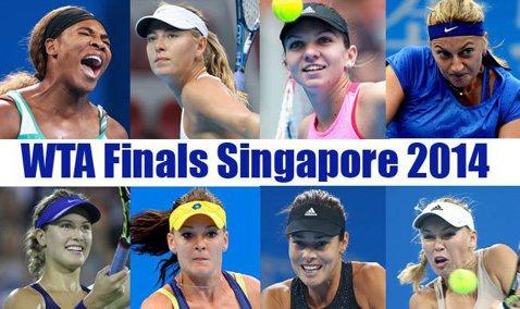 Grupă de foc pentru Simona Halep la Turneul Campioanelor: Serena Williams, Bouchard şi Ivanovic îi sunt adversare. În primul meci, va juca împotriva sportivei din Serbia
