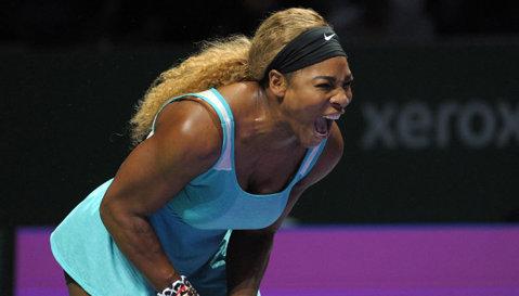 """Serena Williams, după meciul pierdut fără drept de apel la Singapore: """"Simona Halep a jucat extraordinar. Aştept următoarea întâlnirea cu ea"""""""