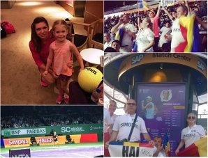 INTERVIU | Meciul Halep – Williams, văzut de la o distanţă de un chibrit. Mărturiile unui fan român din Singapore şi cum tenisul a mai câştigat un viitor practicant | FOTO