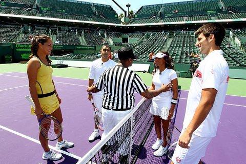 Ana Ivanovic l-a felicitat pe Novak Djokovic, devenit tată pentru prima oară