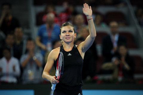 Simona Halep s-a calificat în semifinalele Turneului Campioanelor