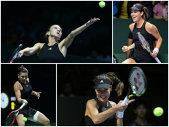 LIVE BLOG Turneul Campioanelor | Şarapova, eliminată dramatic. Halep – Ivanovic, de la ora 14:30. Serena tremură. Wozniacki nu mai poate pierde calificarea în semifinale