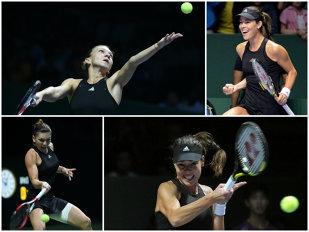 Simona nu păcăleşte tenisul. Halep a pierdut cu Ivanovic, dar a trimis-o pe Serena în semifinale. Radwanska, următoarea adversară a româncei, sâmbătă, ora 13:00