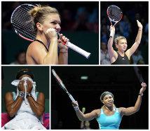 """Serena e în finală la Turneul Campioanelor. """"Să se ducă la Simona şi să facă asta!"""". Reacţie genială a uneia dintre cele mai mari campioane din istorie, după ce Halep a """"ţinut-o în viaţă"""" pe Williams"""