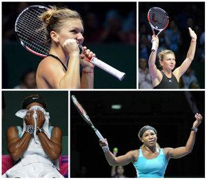 """Serena e în finală la Turneul Campioanelor. Chris Evert: """"Trebuie să o scoată pe Simona la cină, ea a ţinut-o în viaţă"""""""