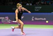"""Prima reacţie a Simonei, după partida fabuloasă cu Radwanska: """"A fost meciul perfect pentru mine. Ştiu că Serena va fi mai concentrată mâine"""""""