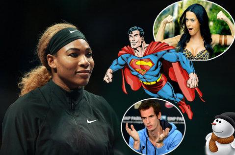 14 lucruri despre Serena Williams, în 140 de caractere. Nike a provocat-o, liderul tenisului feminin a făcut slalom printre castele de nisip şi hiturile lui Katy Perry. Ce a spus despre sărbătorirea titlului de la Singapore