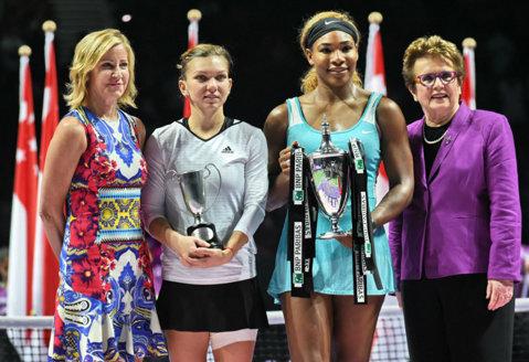 Ce a putut să facă Serena Williams după finala cu Simona Halep de la Turneul Campioanelor | FOTO