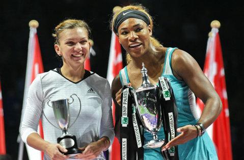 Simona Halep, prima în preferinţele fanilor, a pierdut premiul WTA pentru jucătoarea anului. Serena Williams, votată masiv de jurnalişti
