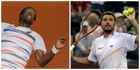 """Egalitate după prima zi în finala Cupei Davis. Franţa - Elveţia, 1-1. Federer, KO în 3 seturi cu Monfils. Stan """"Really the Man"""": """"Poate au fost prea atenţi la Federer"""""""