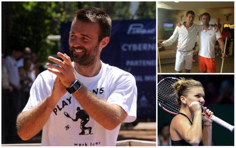 Victor Ioniţă, dorit de Simona Halep. CV-ul românului: a antrenat-o pe Sorana Cîrstea şi este prieten cu Novak Djokovic