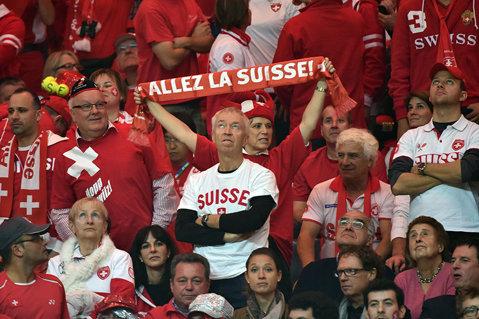 Record de audienţă bătut în Cupa Davis: 27.448 de spectatori, la finala Franţa - Elveţia
