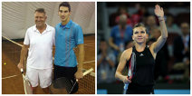 Evenimentul anului: Klaus Iohannis a anunţat că va juca un meci demonstrativ cu Simona Halep în 2015