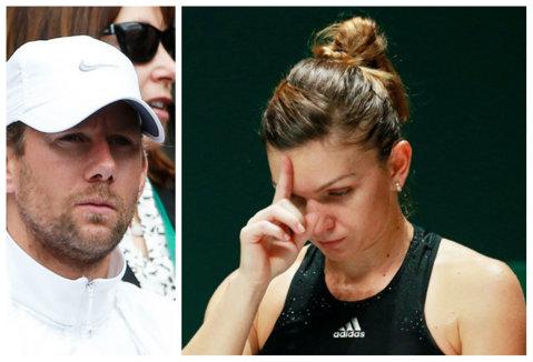 """Wim Fissette: """"Când am început colaborarea, Simona mi-a spus că nu îşi poate controla emoţiile la turneele de Mare Şlem"""". Cum explică belgianul care semnase iniţial un contract doar până la Roland Garros faptul că Simona vine mereu cu altcineva la turnee"""