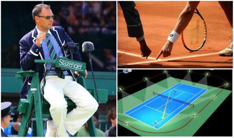 INOVAŢIE | Fabulos: arbitrii vor dispărea din tenis. Un sistem revoluţionar se află în probe avansate