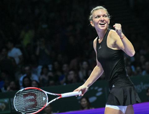 Simona Halep, desemnată cea mai bună tânără jucătoare de tenis din 2014 de bleacherreport.com. Americanii au găsit condiţia pentru ca românca să câştige mai multe GS-uri