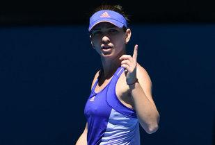 Simona Halep a scăpat de o mare rivală la câştigarea titlului la Australian Open. Românca trebuie să câştige însă cu Wickmayer pentru a se menţine cel puţin pe locul 3 în WTA