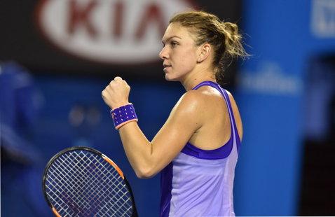 """Calificarea Simonei Halep în sferturile Australian Open nu a fost trecută cu vederea de presa internaţională: """"A rupt vraja"""""""