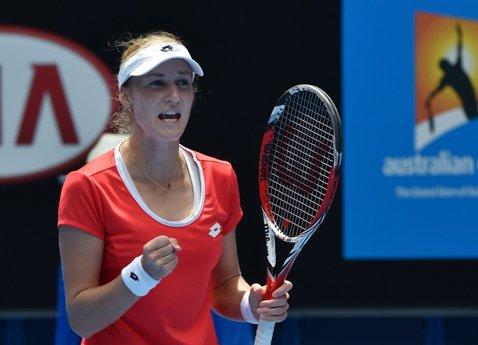 """Makarova, o """"stângace"""" periculoasă. Adversara Simonei Halep a trimis-o acasă, în 2012, pe Serena Williams. Kate este singura jucătoare din Top 15 antrenată de o femeie"""