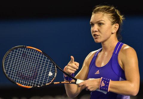 Simona Halep, locul 1 în topul celor mai bine îmbrăcate jucătoare de la Australian Open